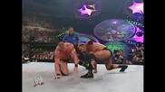 The Rock vs. Brock Lesnar - Undisputed Championship, Summerslam 2002