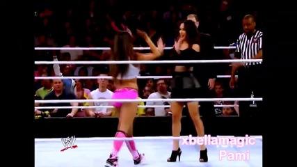 The Bella Twins [pamela's debut]