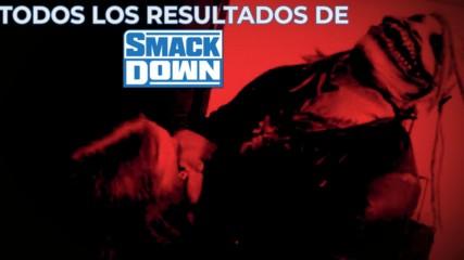 Todos los Resultados de SmackDown: WWE Ahora, Nov 9, 2019