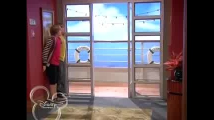 The Suite Life on Deck - 2x01 - The Spy Who Shoved Me / Бг Субс до 8:35