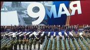 Выступление на военном параде, посвящённом 66-й годовщине Победы в Великой Отечественной войне