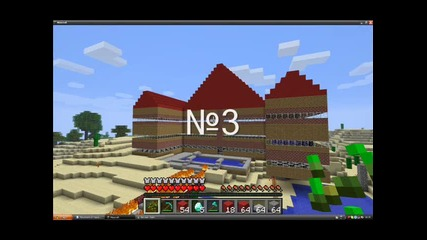 Top 10 Houses In Minecraft