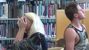 Как да не се храним в библиотеката - Много Смях!!!