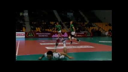 80 Volleyball Digs in 2 minutes (plusliga 2012/13)