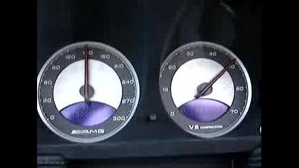 Mercedes - Benz Sl55 Amg 0 - 200 Kph