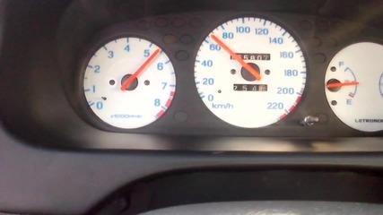 Honda Civic D15z6+ 0-100 km/h