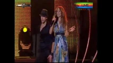 New!!! - Alisia i Sarit Hadad 2011 - Shtom me zabelejish (balkan Music Awards)