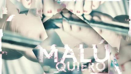 Malú - Quiero ( Audio)