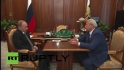Russia: Tomsk governor briefs Putin on 'stability' in the region