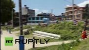 Непал: Катманду е в паника след земетресение с магнитуд 7.3 по скалата на Рихтер
