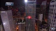 Ник Валенда изуми Чикаго с номера си !