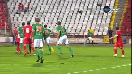 Нефтохимик успя да върне един гол на ЦСКА