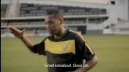 Nike + Магистър скорост - с участието на Робиньо, Неймар & Гансо