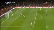 Арсенал - Саутхемптън 0:0, 24 кръг, Висша лига