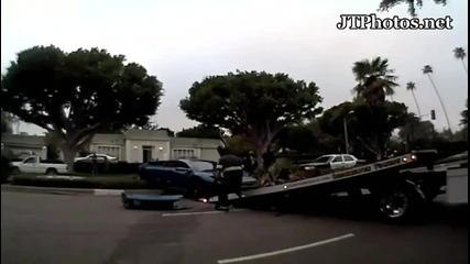 Ето какво става като се правиш на готин с Lamborghini за 400 000 $