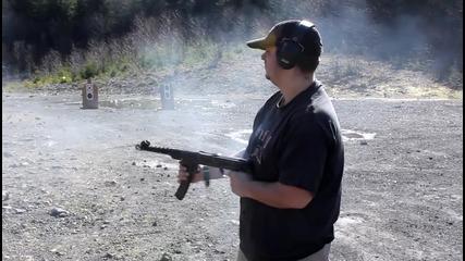 Автомат Судаев Pps-43 автоматична стрелба Full auto