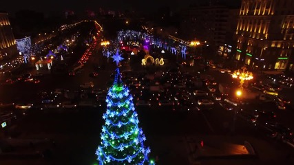 Russia: Drone footage captures Moscow's sparkling Pushkin Square ahead of New Year's Eve