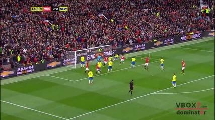 07.12.13 Манчестър Юнайтед 0 - 1 Нюкасъл Юнайтед - Най-доброто от мача