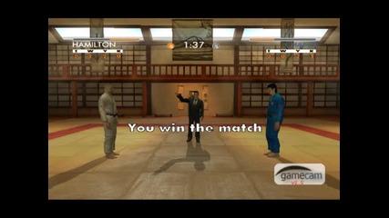 David Douillet Judo Gameplay