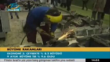 Turska ikonomika uveli4i 9 procent za 2011