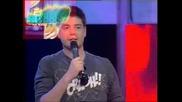 Music Idol 2 - 27.03.08г. - Иван Ангелов се извинява на Фънки