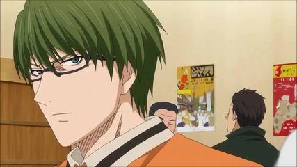 Kuroko no Basuke - Смешна сцена от епизод 14 - Мидорима и Такао