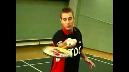 Бадминтон - Forehand Net Shot