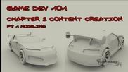 007 Game Dev 101 - Chapter 2 pt1: Моделиране на кола