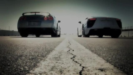 Drag Race- 2012 Lexus Lfa vs 2010 Nissan Gt-r