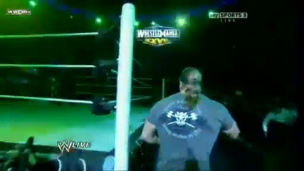 Wwe Raw Triple H returns on 2.21.11 Hd