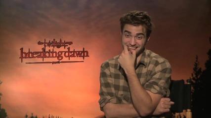 Breaking Dawn interviews with Kristen S., Robert P., Taylor L., Ashley G., Jacksonr.