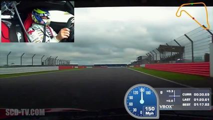 P1 vs Laferrari vs 918 Spyder във времева битка (track Shootout) на писта Silverstone