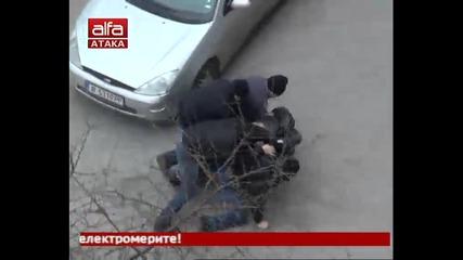 Инсценировка и произвол на цивилни полицаи - Варна, 17-02-2013