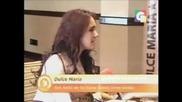 Dulce Maria en Entrevista Exclusiva depues de Teleton Guatemala Rumores