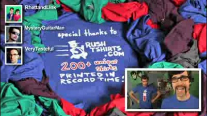 T - Shirt War (stop - motion music video)