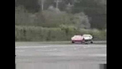 Ferrari F40 vs Toyota Supra Mk4 Veilside
