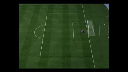 Fifa 11 Гол от центъра !!!