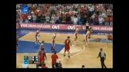 7.09.2009 Полша - България 90 - 78 Еп по Баскетбол