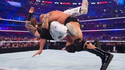 Скалата срещу Ерик Ролан: WrestleMania 32 (Целият мач - WWE Network Exclusive)