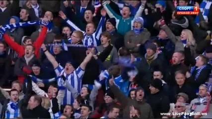 Арсенал 1:1 Хъдърсфийлд (lee)