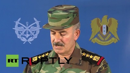 Syria: Ground forces have made 'important gains' in fight against ISIS - Syrian Army spokesperson
