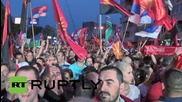 Macedonia: Thousands rally in support of Prime Minister Gruevski