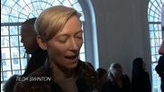 Ftv - Fashiontv Tilda Swinton @ Pringle of Scotland Front Row Fall 2011 London