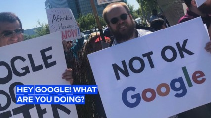 Google's in hot water after firing four of its employees