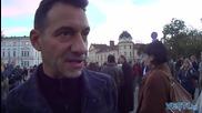 Христо Мутафчиев и Камен Воденичаров подкрепипа протеста срещу Сидеров