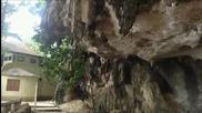 Тайландски катерач показва своите умения !!!