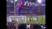 Италиански Футболни Фенове Скандират На Песен На Ricchi E Poveri