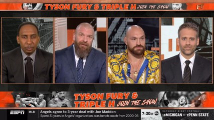 Triple H explains why Tyson Fury is custom-made to compete in WWE