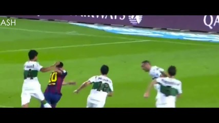 Lionel Messi vs Elche 14/15