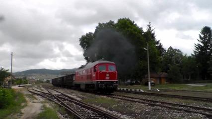 Товарен влак начело с Db Scenker 232 411 - 9